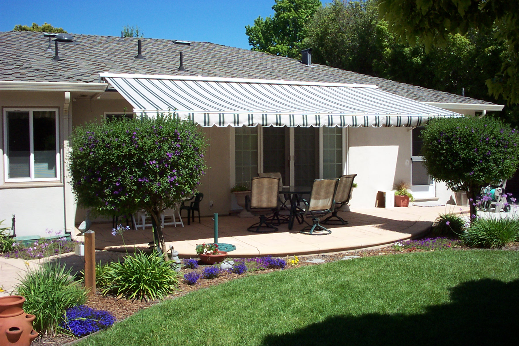 Residential Awnings - ShadeTree Retractable Awnings Provide